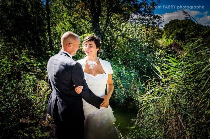 photo du couple avant son mariage aux Marches (73) en Savoie