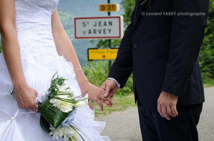 photo de mariage à Saint Jean d Arvey, massif des Bauges