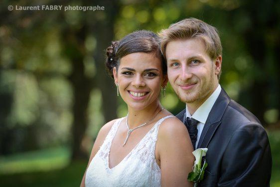 portrait des mariés à Chambéry, 73