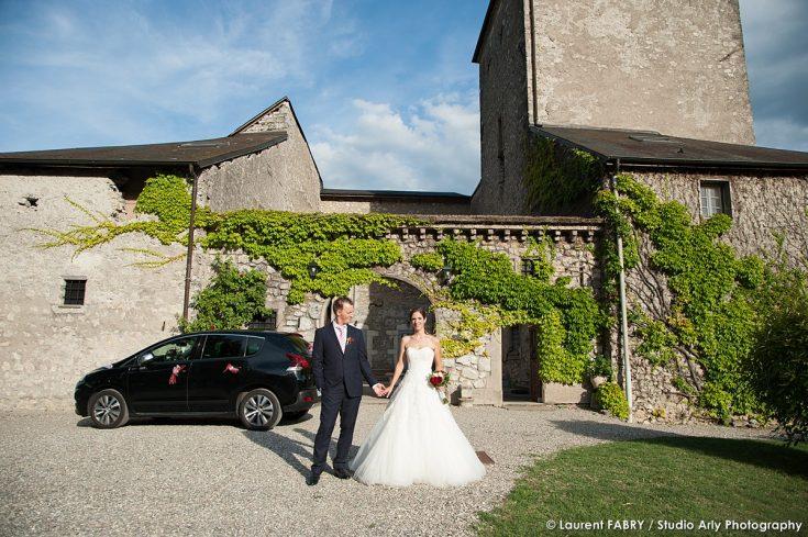 mariage au Château de la Rive à Cruet (Savoie)