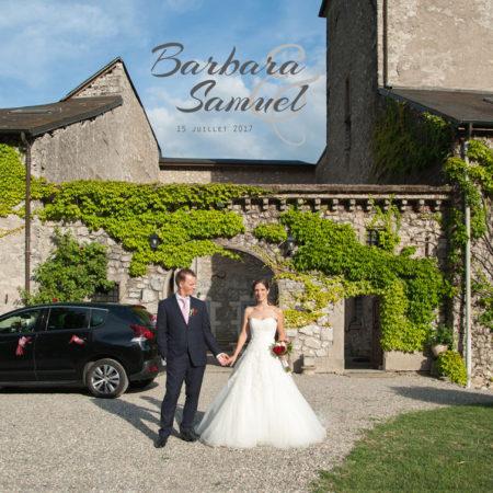 Album de mariage à Planaise