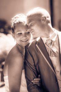 Photo de couple lors d'un mariage à Domessin