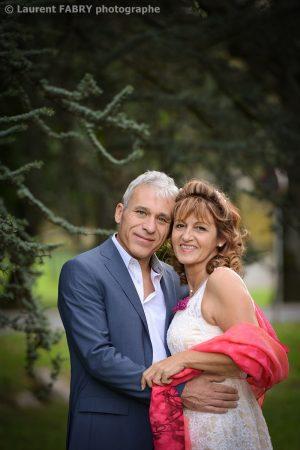 gros plan photo sur les mariés, photographe mariage à Saint-Martin d Uriage, près de Grenoble
