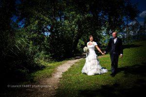 photo de mariage près du lac Saint André, Savoie, photographe professionnel