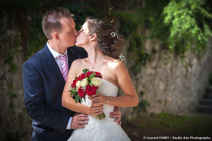 portrait des mariés, photographe de mariage, Savoie (73)