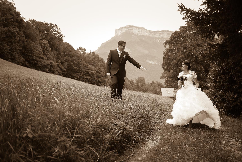 Photographe de mariage en Savoie