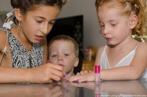 Préparation des tous petits pour le mariage en Combe de Savoie