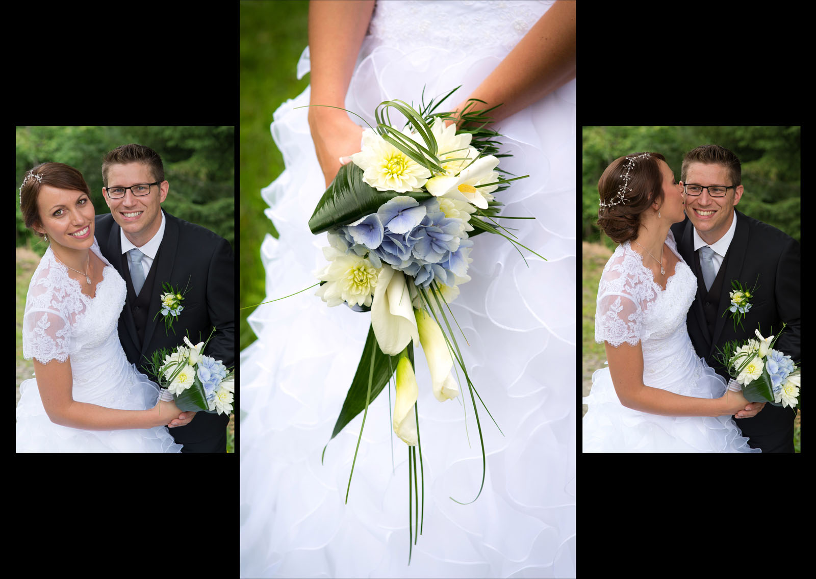 mariage en Bauges : le bouquet de la mariée