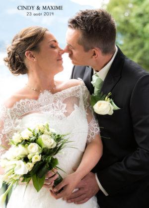 Album de mariage au lac du Bourget
