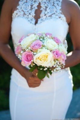 Photographe de mariage en Haute Savoie (74) : le bouquet de la mariée