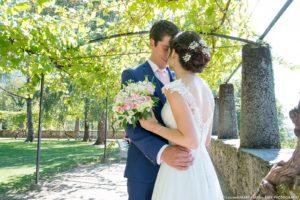 photo de couple réalisée par le photographe professionnel lors du mariage à Albertville