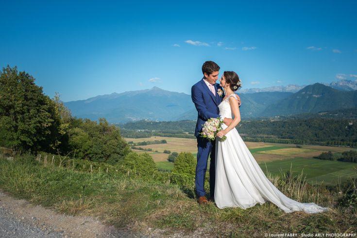 photographe portrait de couple (mariage en Savoie, 73)