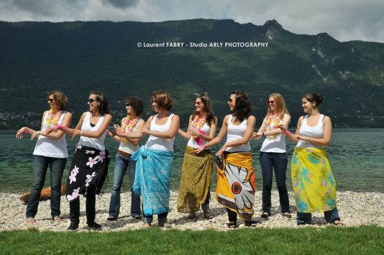 shooting photo pour un EVJF au lac du Bourget, Savoie (73)