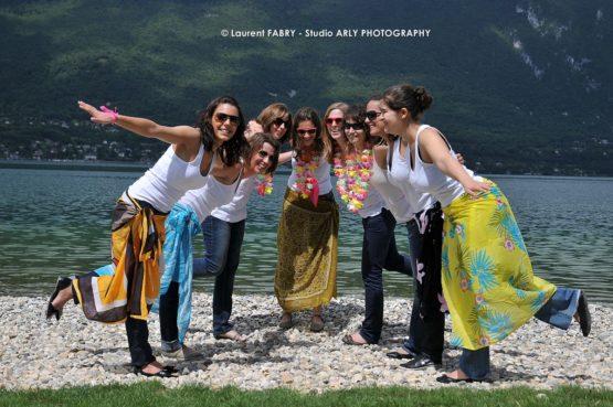 reportage photo pour un EVJF au lac du Bourget, Savoie (73)