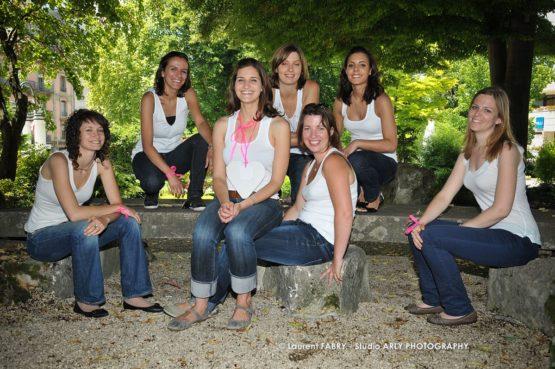 séance photo pour un EVJF à Aix-les-bains, Savoie (73)