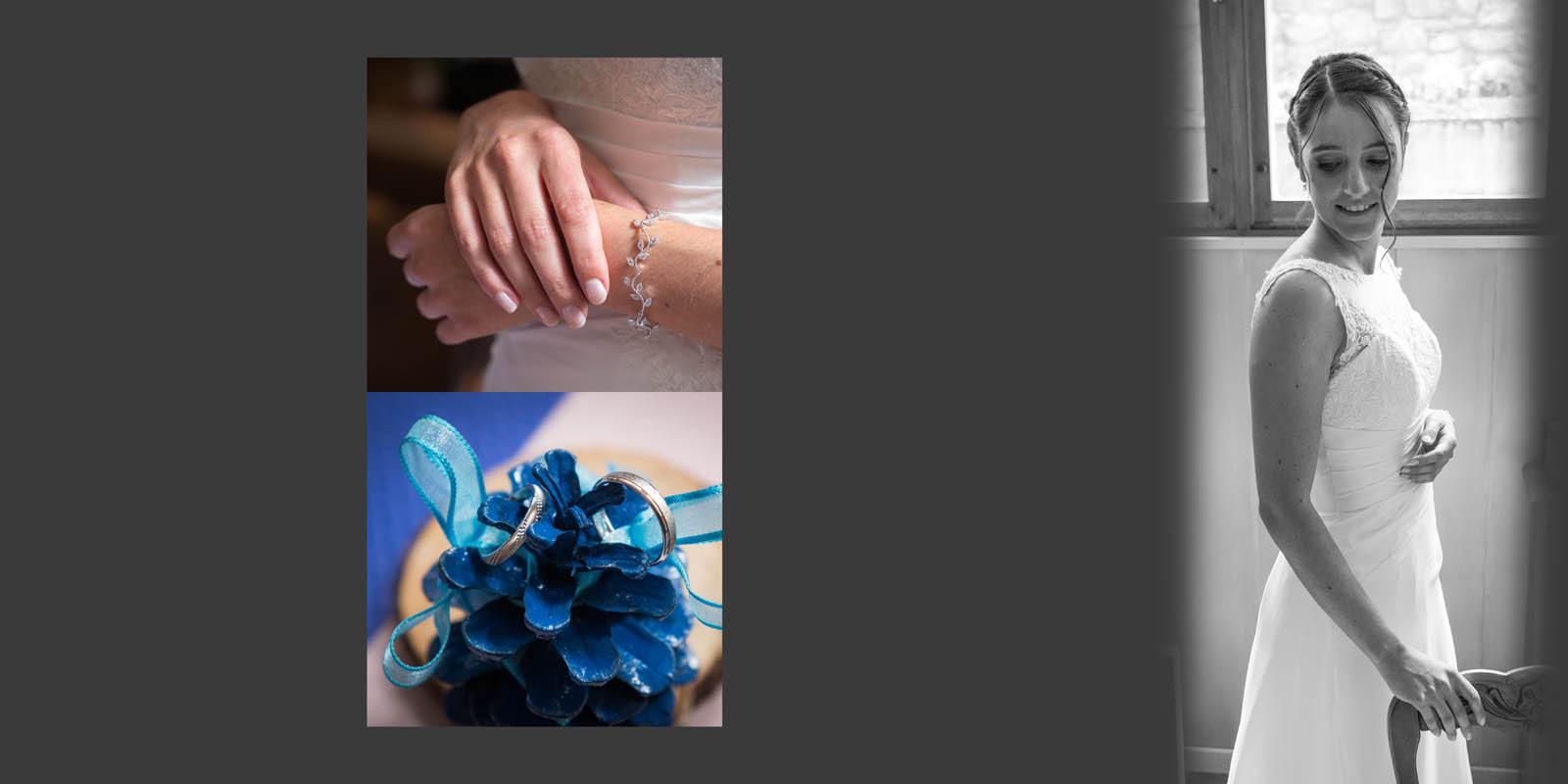 La mariée, mariage à Courchevel